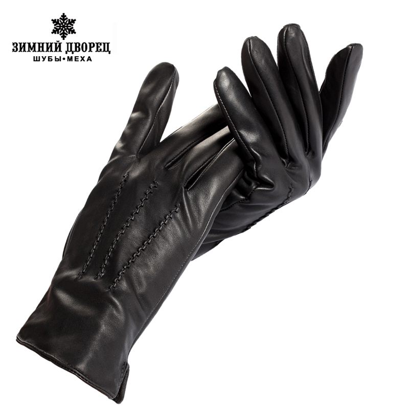 Sell well men GIoves ,Genuine Leather Ieather men GIoves  mens black GIoves ,Warm lined Leather  men GIoves, Free shipping