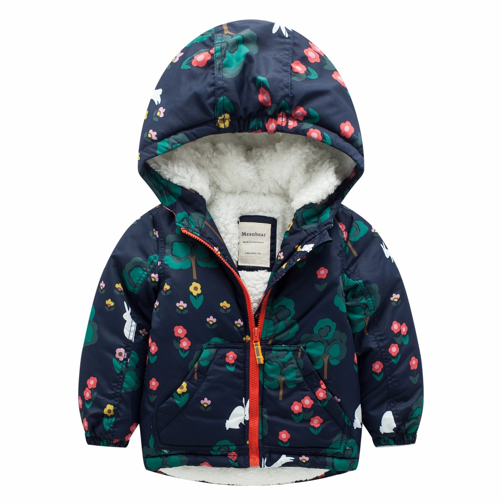 New Arrival Girls Winter Down Jacket Children Cartoon Animal Print Coat Baby Girls Hooded Outerwear Winter Jacket For Girls 50pcs lot phd3055e 60v 12a