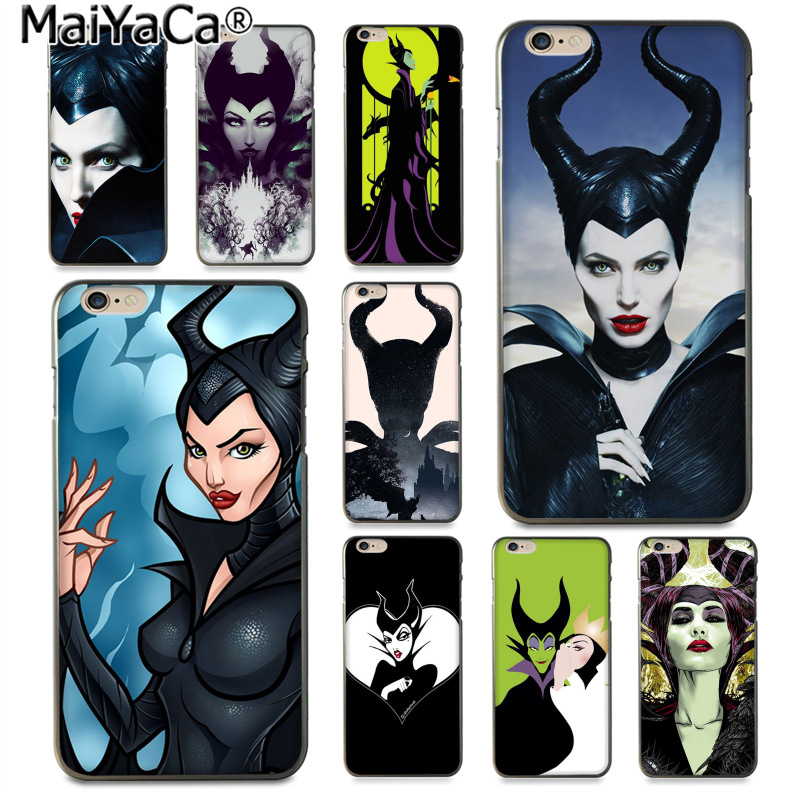 Us 1 41 29 Off Aliexpress Com Buy Maiyaca The Witch Maleficent Luxury Fashion Phone Case For Apple Iphone 8 7 6 6s Plus X 5 5s Se Xs Xr Xs Max