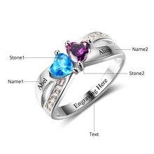 Butterfly Custom Birthstone Ring