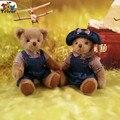 2016 мягкие пары плюшевый мишка плюшевые игрушки куклы свадьбы любовника святого валентина подарок бесплатная доставка новогодний подарок для подруги