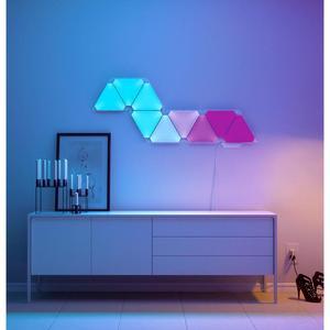Image 5 - Original Youpin Nanoleaf Full Color Smart Odd Light Board Work with for Apple Homekit Google Home Custom Setting 4pcs/1box