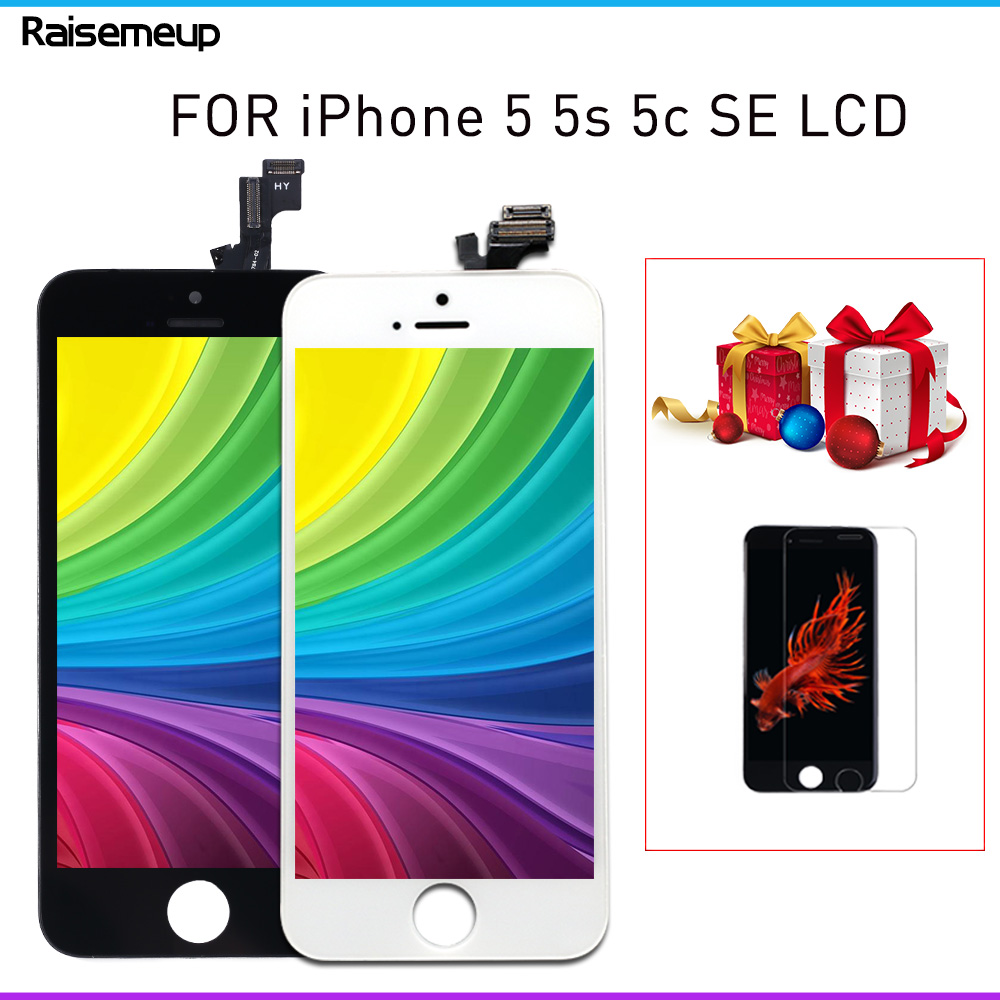 AAA+++ Quality LCD Display For IPhone 5 5s Se 5c 4s Screen Touch With Original Digitizer Assembly Pantalla For IPhone SE LCD