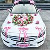 Korean DIY Wedding Car Decor Artificial Flowers Set Car Float Decoration Wedding Arrangement