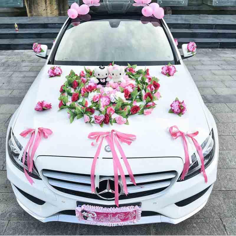 Aliexpress.com : Buy Artificial Flowers Wedding Car