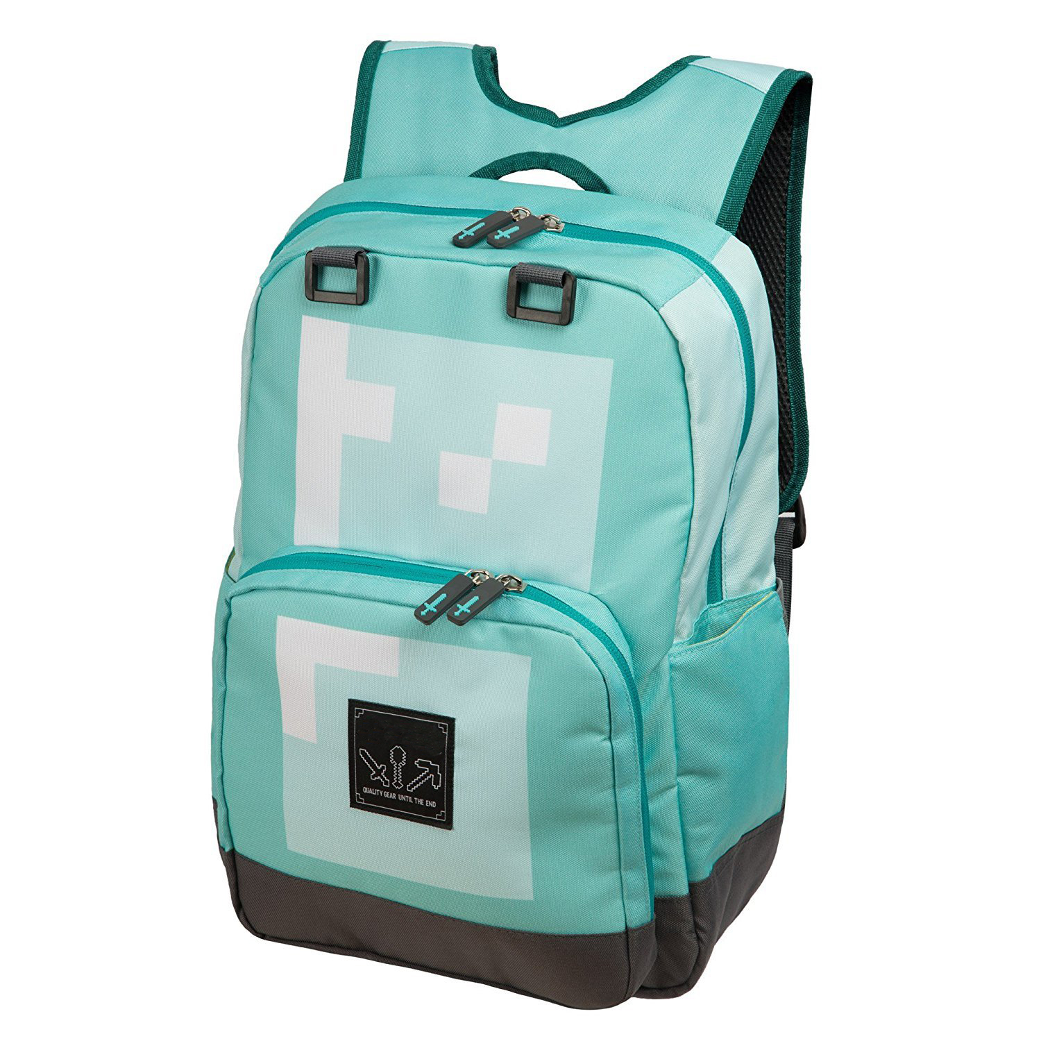 Game MineCraft JJ Cartoon Teenager Backpack Boy Girl Bags Primary Backpack School Bags for Kids Action Figure Toys Children Gift 2018 bendy and the ink machine backpack for children school bags cartoon game printing book backpack daily school backpack