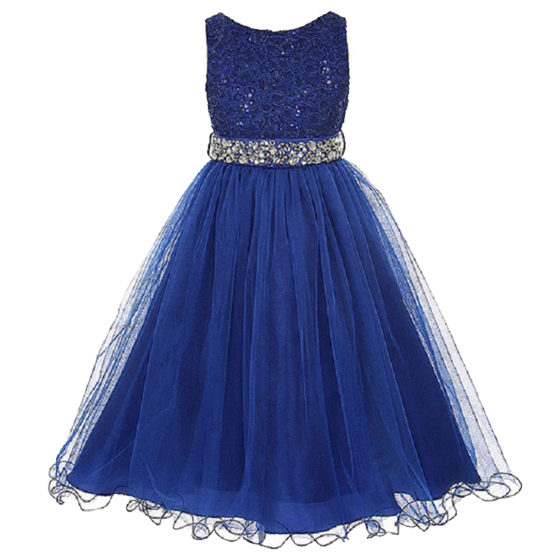 Lace Baby Girls Princess Dress For Girls Wedding and Party Summer Clothes Christmas Party Kids Dresses For Girl Infant Costume new fashion embroidery flower big girls princess dress summer kids dresses for wedding and party baby girl lace dress cute bow