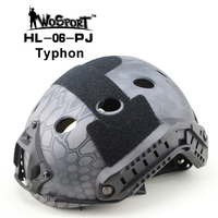 WoSporT Tactical FAST Helmet PJ TYPE For Airsoft Painball Military Adjustable CS Dial Pararescue Jump Protective
