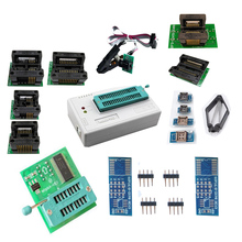 TL866II Plus Unviersal TL86CS/A Upgraded write usb programmatore with 10pcs socket sop8 clip 1.8 adapter+ PCB board