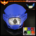 For Yamaha YZ YZF WR WRF DT XT 250 For Honda CRF230F 50F Motorcycle Streetfighter Headlight Fairing Enduro Cross LL45 With LED