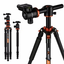 K&F CONCEPT 72″ Professional Camera Tripod Stand Travel Portable Monopod Ball Head 360 Level Scale Stable For DSLR Camera TM2534