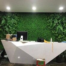40x60cm Grass Mat Green panel Artificial Lawns Landscape Carpet for Home Garden wall decoration cheap fake grass party supplies