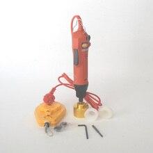Manual botella máquina que capsula, tapón roscado de mano taponadora herramientas, eléctrica máquina de envasado, envase cosmético tapado
