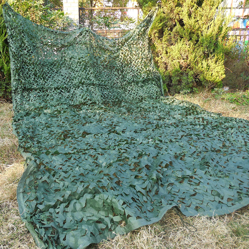 ФОТО Free Shipping ! 2X6M Green Hunting Camping Camouflage Net Car Drop Camo netting for Military Photography