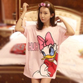 Daisy Duck ropa mujer plus big size t-shirt kawaii t shirt women loose casual tshirt camisetas y tops poleras de mujer moda pink