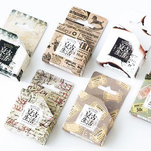 Image 3 - New 20Pcs Super Value Stationery Lucky Bag Washi Tape Sticker Bookmarks Stationery Set Gift Box