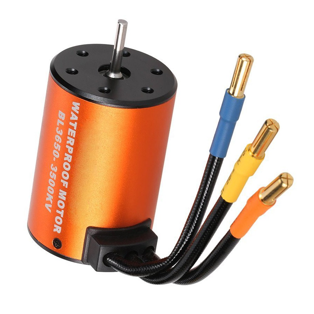 HOT SALE 3650 3500KV Waterproof Brushless Motor for 1/10 RC Car HSP 94123 HuanQi 727 FS Racing 53625/53632 шина nitto nt90w 225 60 r17 99q