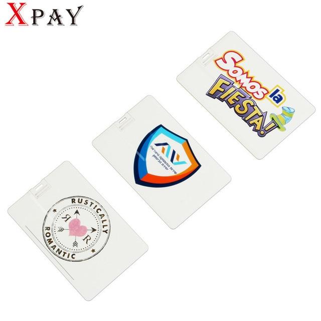 Xpay Custom Logo Business Card Model Usb 20 Memory Stick 4gb 8gb