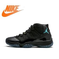 Original Authentic Nike Air Jordan 11 Men's Basketball Shoes Classic Retro Wear Comfortable Outdoor Sports Shoes 378037-006