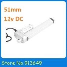 CALIENTE 12 V micro (mini) de 1200 N 6.5 mm/s actuador lineal eléctrico