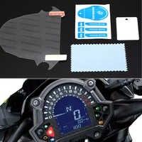 Panel de salpicadero de motocicleta, película de protección antiarañazos, Protector de pantalla, pegatinas para Kawasaki Z900 Z650 Z 900 Z 650 2017
