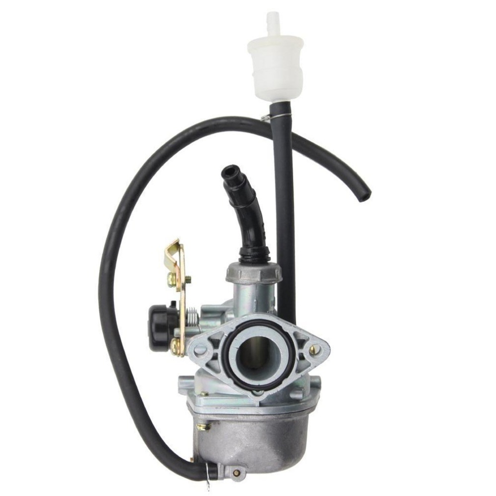 GOOFIT 19mm Carburetor with Cable Choke for 110cc ATV Dirt Bike Go Kart N090-006
