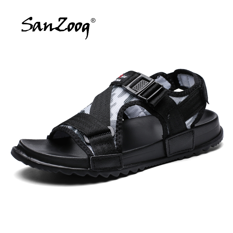 Sandal Men Heren Big-Size Casual Summer Homme Man 49 Buckle Hombre title=