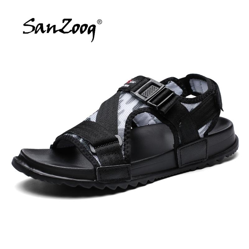 Summer Casual Mens Sandals Man Buckle Sandal Men Sandalias Hombre Sandale Homme Sandles 2020 Sandałki Heren Sandalen Big Size 49