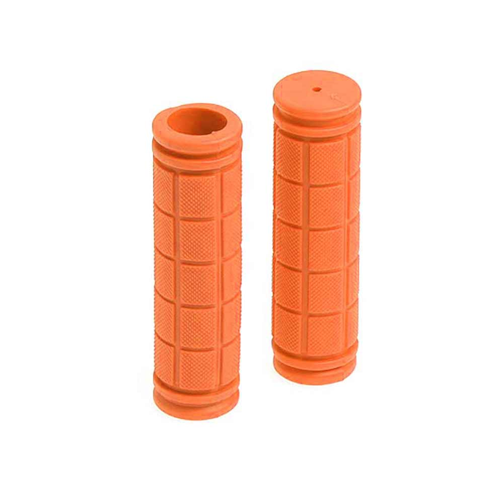 1 Pair Bicycle Handlebar Grips Soft Rubber Cycling BMX MTB Mountain Bike Scooter Fixed Gear Bar End Parts Accessory Tool MC889 in Bicycle Grips from Sports Entertainment