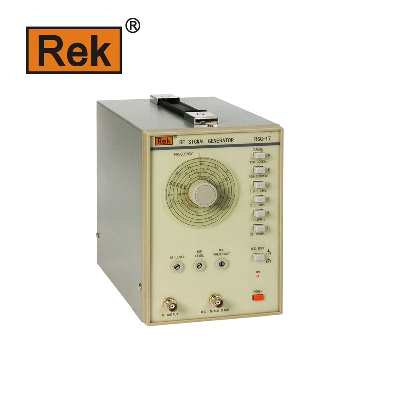 REK Merik RSG-17 100 kHz ~ 150 MHz high-frequency signal generator 10hz 1mhz low frequency function signal audio generator producer rek rag101