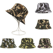 a70562515a0 New Fashion Cute Adjustable Cap Camouflage Boonie Hats Nepalese Cap Army  Mens Fisherman Hat High Quality