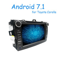 8 Inch 2 Din Android 6 0 Car Dvd Player For Toyota Corolla 2007 2008 2009