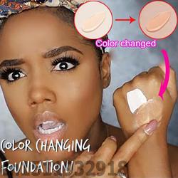 Pro Цвет изменение Фонд Макияж базы ню лицо жидкий Cover корректор долговечностью макияж подарок sombras Skin care Foundation