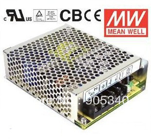 MeanWell NES-75-12 75W 6.2A 12V Single Output Switching LED Power Supply High Reliability Miniature SMPS CB CE UL meanwell 24v 75w ul certificated nes series switching power supply 85 264v ac to 24v dc
