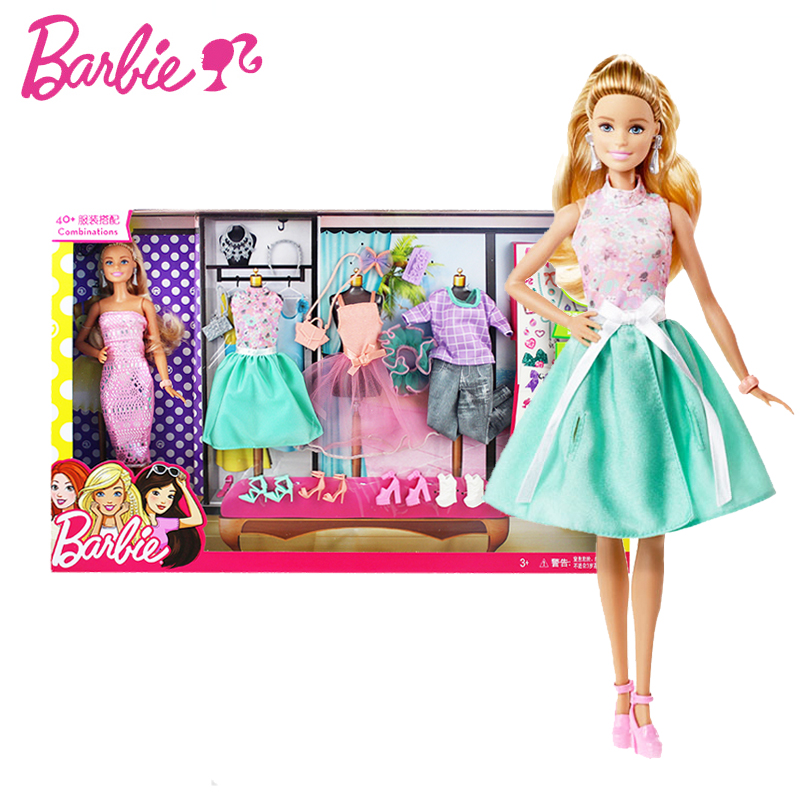 Original Barbie Doll clothes Toys Princess Designer Fashion  Girll Creative Desi Clothes bonecas toys for children