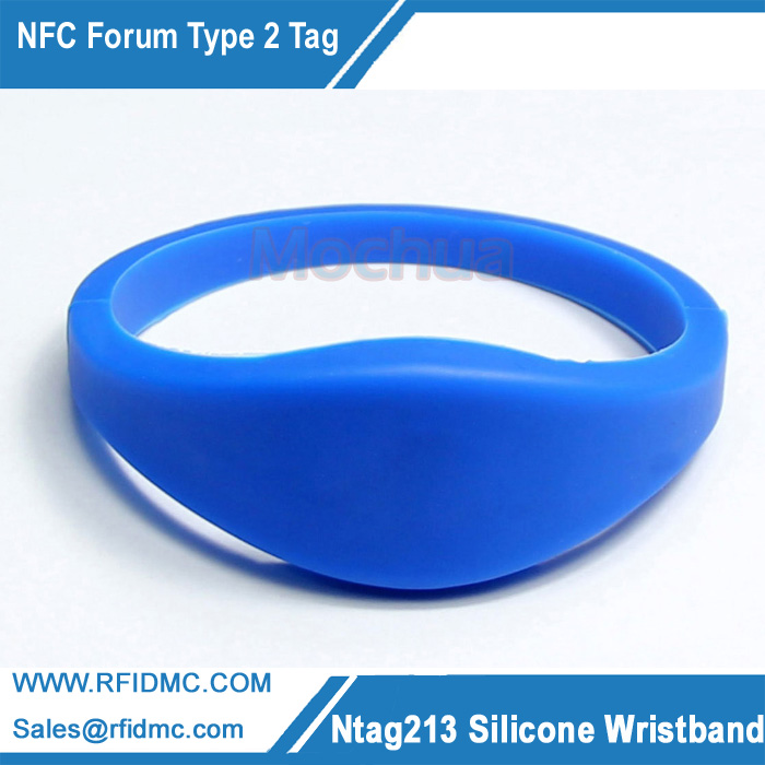 NTAG213 Wristband NFC Wristband NFC Forum Type 2 Tag for All NFC enabled devices image