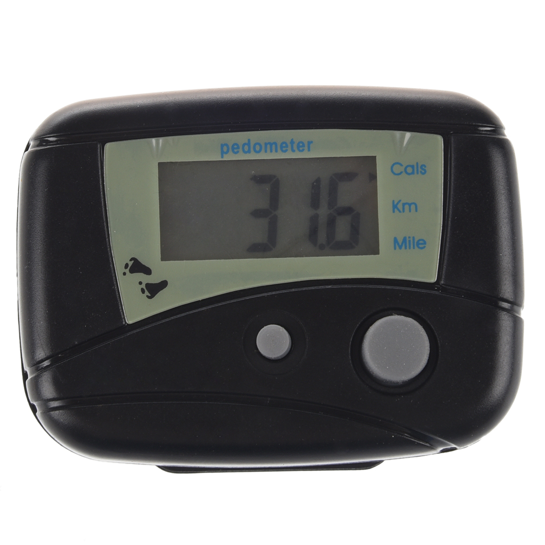LCD Run Step Electronic Digital Pedometer Walking Calorie Counter Distance New