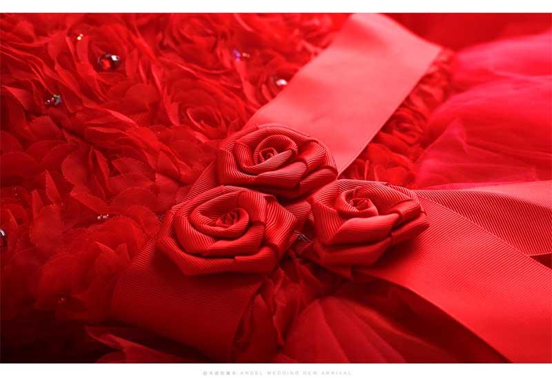 Sans Partie Essuyant Red Taille Soirée Bal Plus Broderie Bretelles Longue Rouge Grande Dos La Retour De Avant Court Tapis Nu Robe 0qdxOF