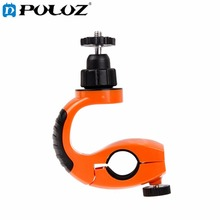 For GoPro Accessories 360 Degree Rotary Stand Sport Bicycle Handlebar Mount for GoPro HERO5 HERO4 Session HERO 5 4 3 2 1 SJ4000