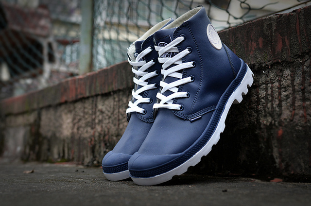 PALLADIUM Women 2017 Soldiers Sneakers Boots Leather Ankle Boots casual  shoes 36-40 8e3cce384