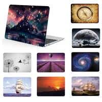 """Motif peinture coque d'ordinateur portable étui pour macbook Air 11 13 """"Pro 15 étui pour ordinateur portable Retina 12 2012-2018 libéré et housse de clavier"""