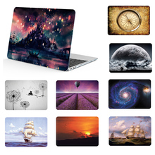 Pattern painting Laptop Shell Case For Macbook Air 11 13  Pro 15 case Retina 12 2012-2018 Released & Keyboard Cover