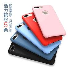 5 цвет падение сопротивления новый оригинальный icarer xoomz бренд мягкой кремния резина задняя крышка для iphone 7 4.7 »phone case для iphone7