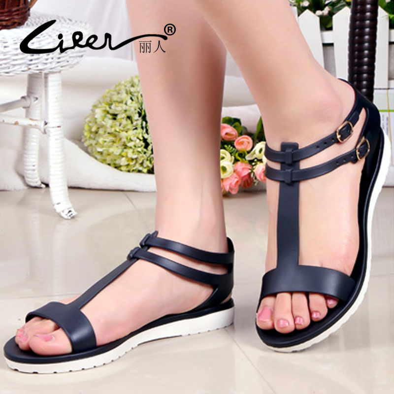 2018 Women Sandals Summer Shoes Fashion Peep-toe Gladiator Sandals - Women's Shoes