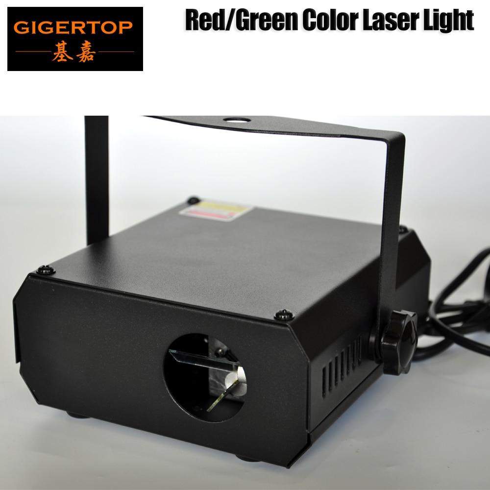 TIPTOP TP-E36 professionnel Club DJ Disco projecteur scène Laser lumière fête vert rouge commande vocale 20 W secouant verre faisceau Laser