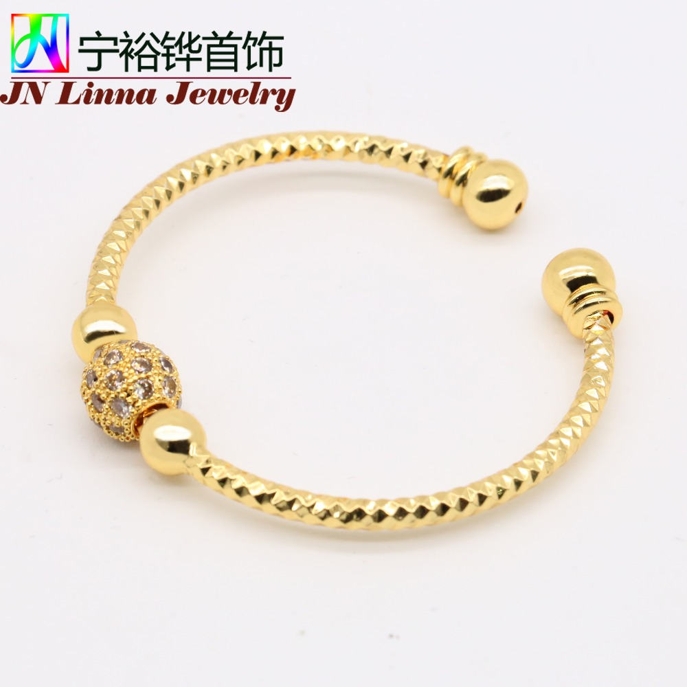 size jn can girls and bracelet children in from baby gilt item boys the bengal opening of kid bangles adjust jewelry accessories gold style for general