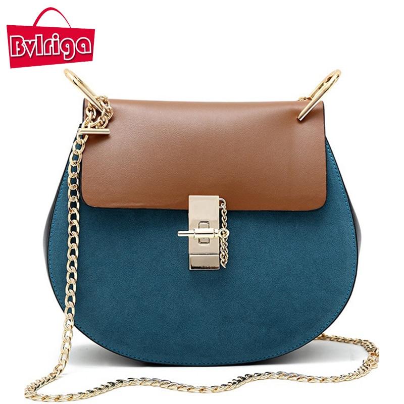 ФОТО BVLRIGA Women messenger bags handbags women famous brands chain shoulder bag designer high quality new crossbody bags for women