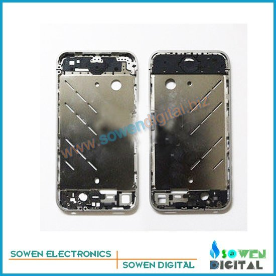 for iphone 4 4g  middle plate board silvery  +good quality wholesaler or retail