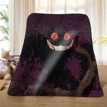 Custom cheshire_cat_ (1) Blanket Soft Fleece DIY Your Picture Decoration Bedroom Sofa Multi Size#929-02-001-38