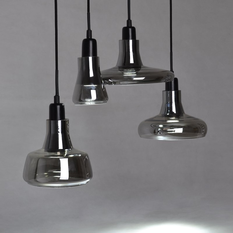 Nordic Creative crystal glass <font><b>pendant</b></font> <font><b>light</b></font> loft designer <font><b>bar</b></font> restaurant shadow E27 single head <font><b>pendant</b></font> lamp fixture image